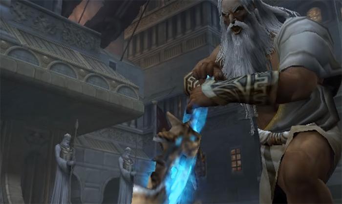 Zeus from GoW II