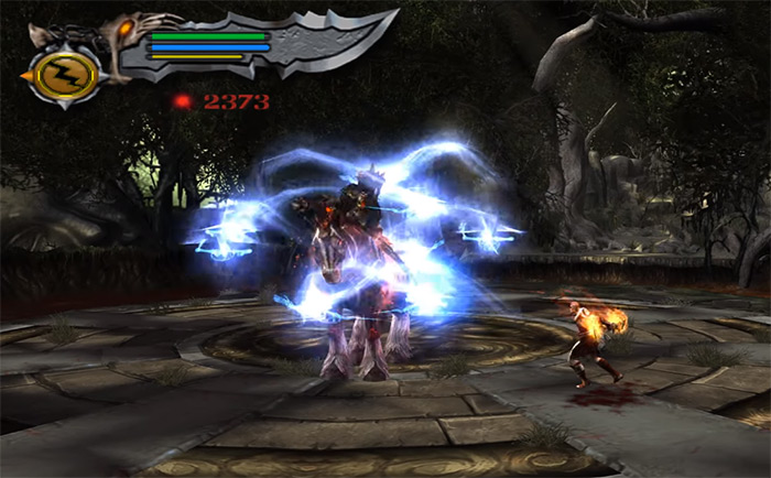 Alrik King boss in God of War 2
