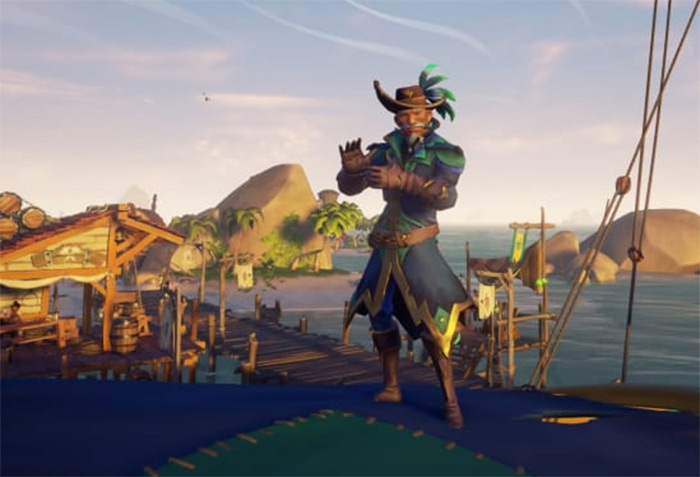 Parrot sea of thieves outfit