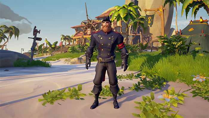 Executive Admiral outfit set