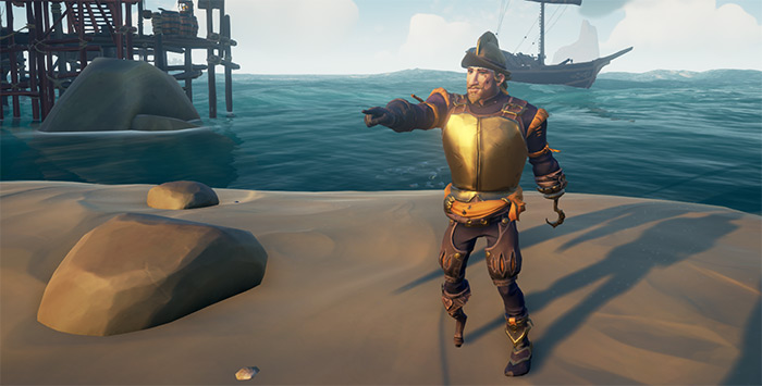 Imperial Sovereign sea of thieves set