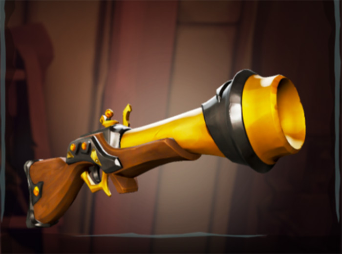 Sovereign Blunderbuss in Sea of Thieves