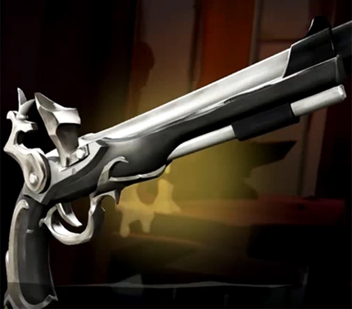 Ebon Flintlock Pistol Sea of Thieves