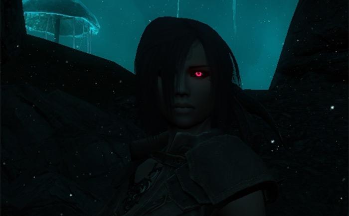 Skyrim Glowing Eyes mod