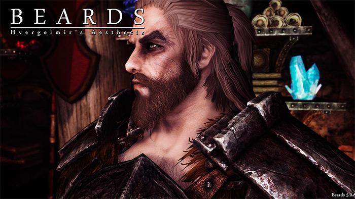 Beards mod in Skyrim