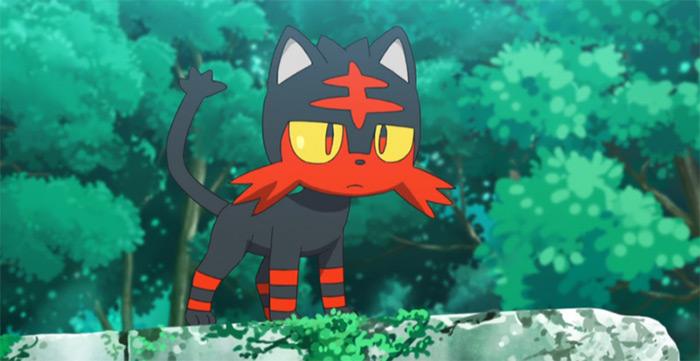 Litten from anime