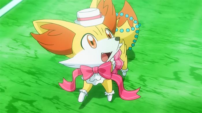 Fennekin in Pokemon anime