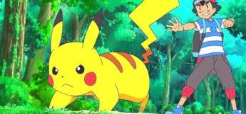 Pikachu ready for battle - Pokemon anime