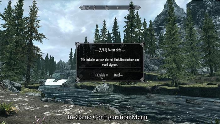 Sounds of Skyrim mod