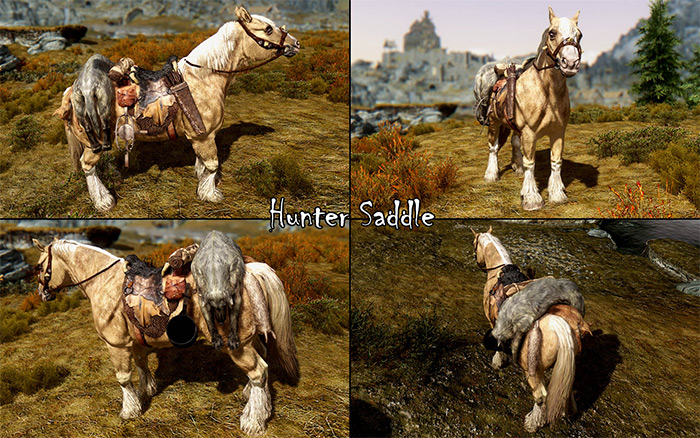 Convenient Horses Skyrim mod