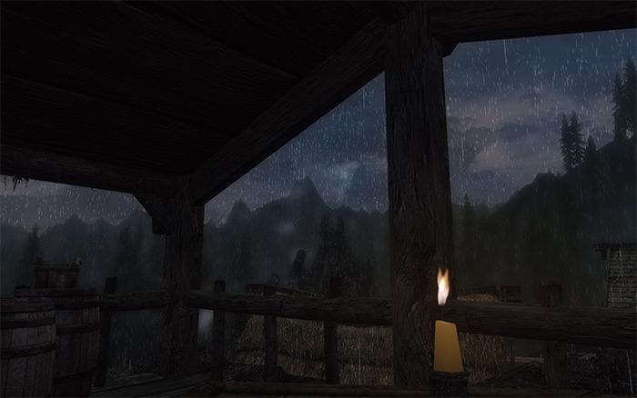 Real Shelter Skyrim mod