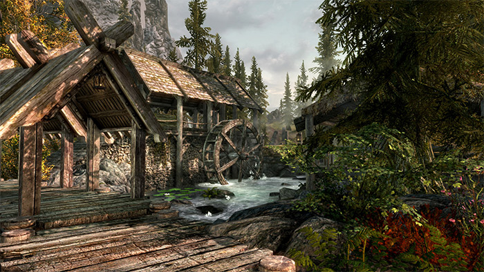 Immersive Saturation Boost Skyrim mod