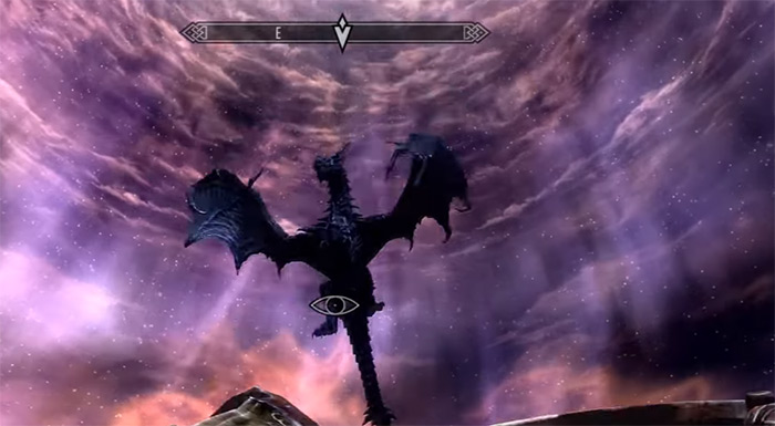 Alduin in skyrim