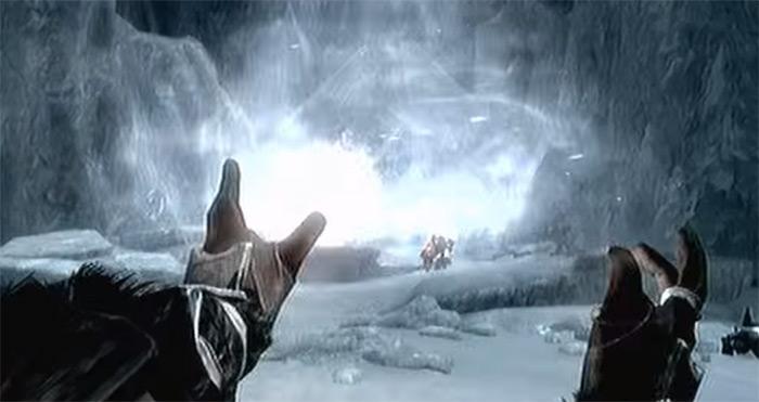 Frost Giant Karstaag in Skyrim