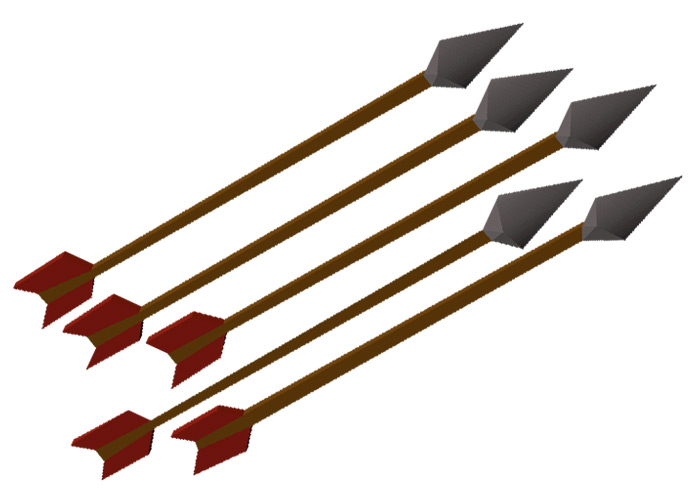 Iron Arrows in OSRS