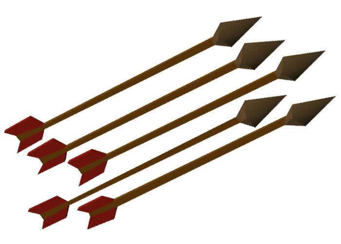 Bronze Arrows in OSRS