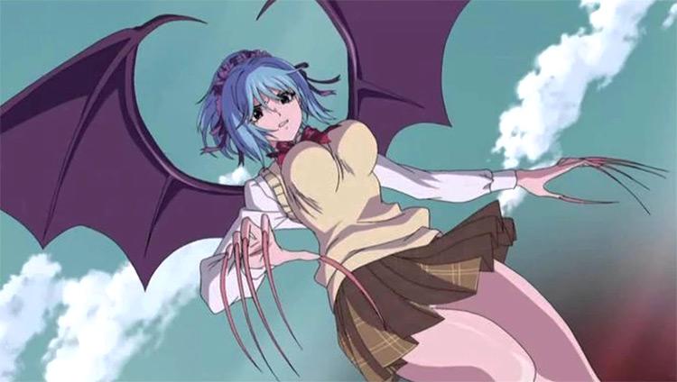 Kurumu Kurono Rosario + Vampire anime screenshot