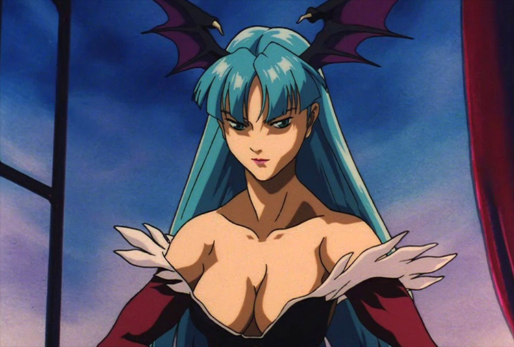 Morrigan Aensland from Vampire Hunter