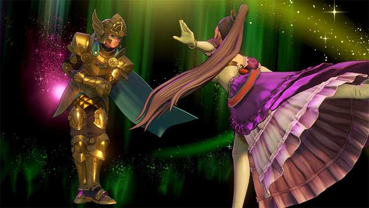 Saint Seiya Armor Dragon Quest 11 mod