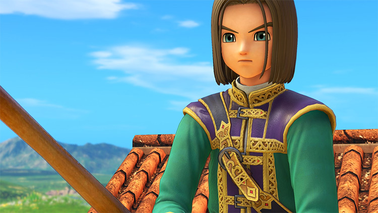 Lost Drasilian Prince Dragon Quest 11 mod
