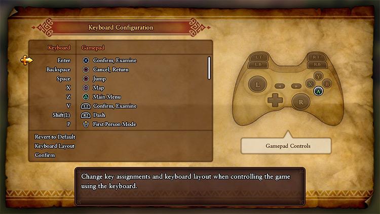 DualShock 4 Buttons Dragon Quest 11 mod
