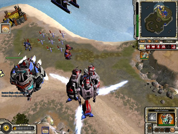 Red Alert 3 Reloaded mod