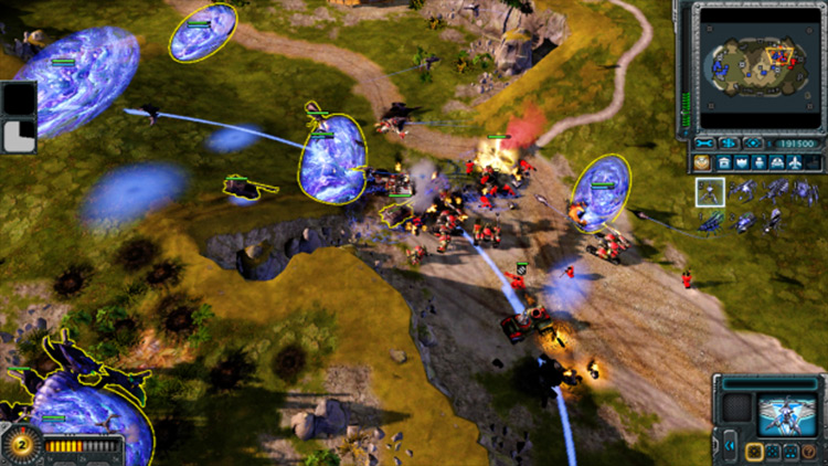 Command and Conquer: Alternate Universe mod