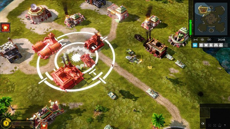 Generals 2 mod for Red Alert 3