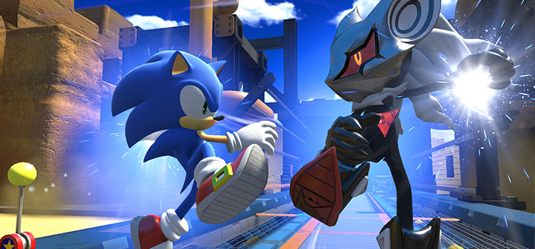 Sonic Avatar Parts Mod - Screenshot of Sonic Forces