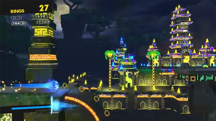 Modern Sonic Physics Tweaks mod screenshot
