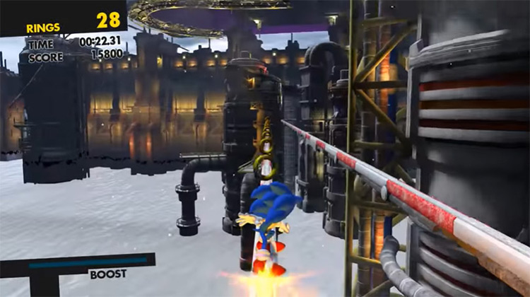 Low End Mod Sonic Forces screenshot