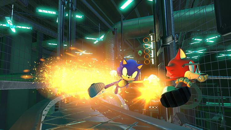 Sonic Unleashed Sonic mod screenshot
