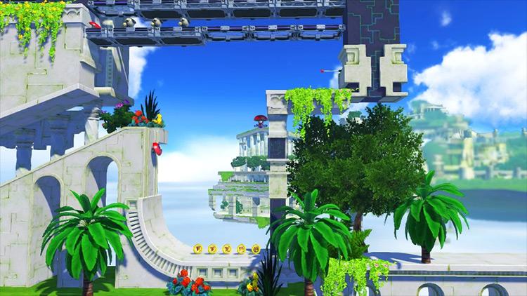 Sky Sanctuary mod for Sonic Forces