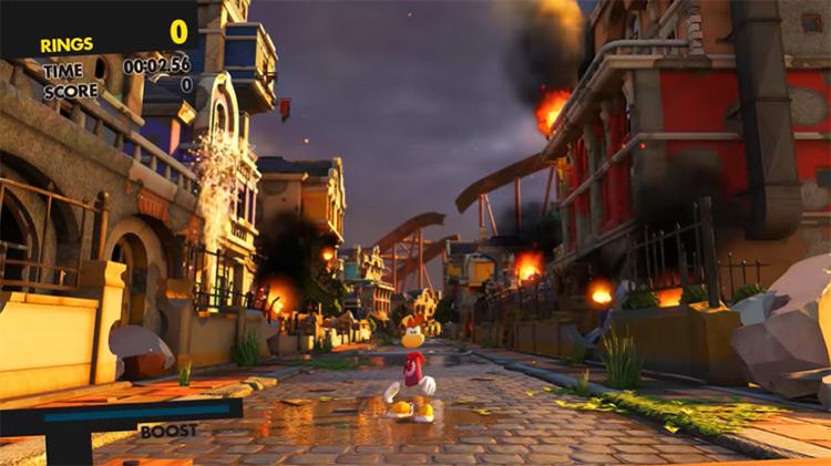 Rayman Sonic Forces mod screenshot