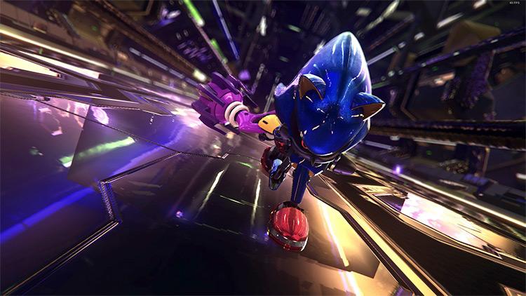 Metal Sonic Partner mod screenshot