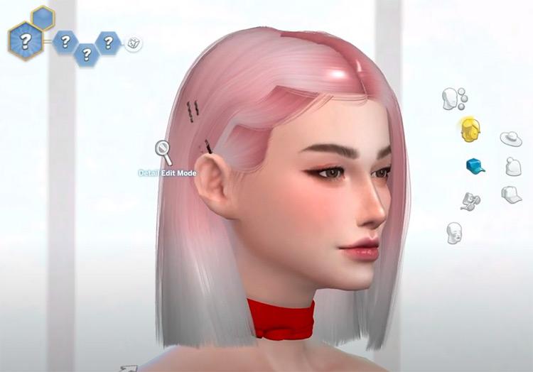 Merengue Sims 4 character design