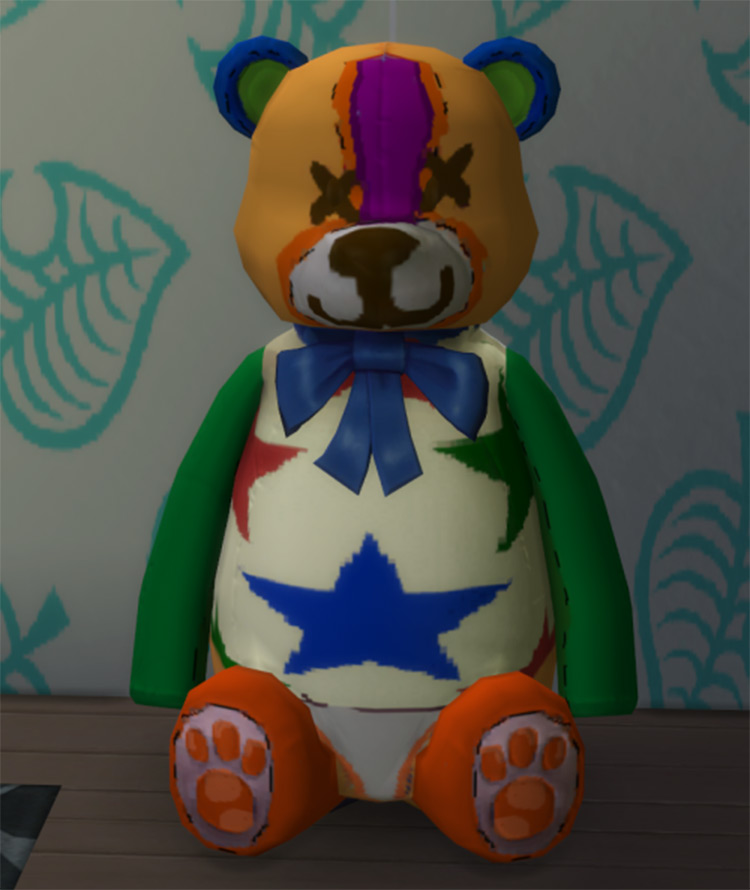 Stitches Bear Plushie in Sims 4