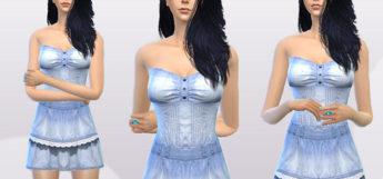 Short Denim Dress CC