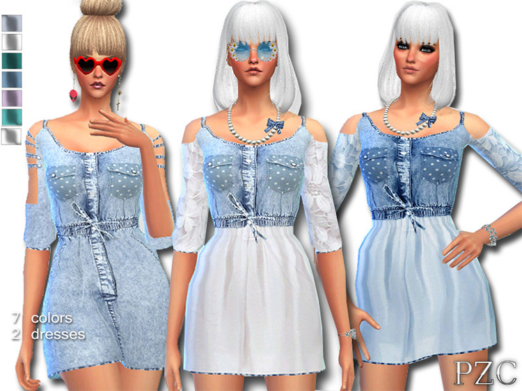 Denim Jeans Dress CC