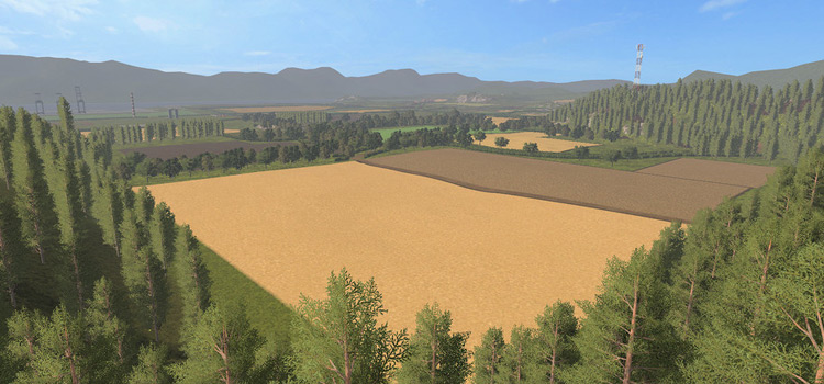 Sussex Farm Map for FS17