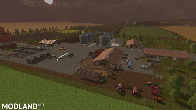 Greatfields Map Mod - FS17