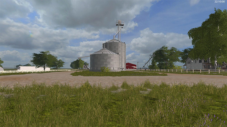Countyline Seasons Map for FS17
