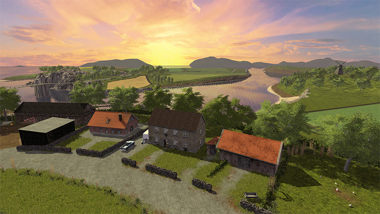 Spectacle Island in FS17