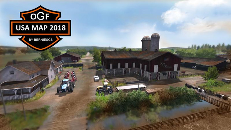 OGF USA Map for FS17
