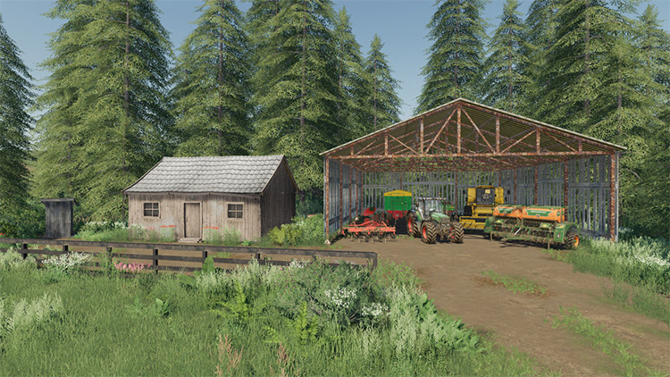 No Man's Land Map for FS19