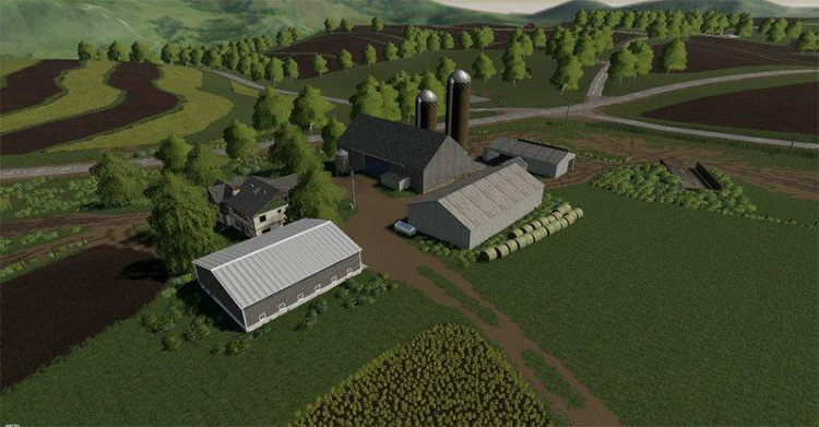 Westby Wisconsin Map in FS19