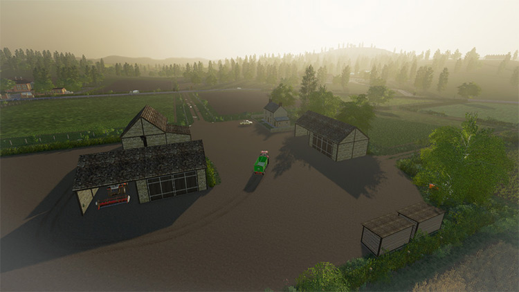Mercury Farms FS19 Map
