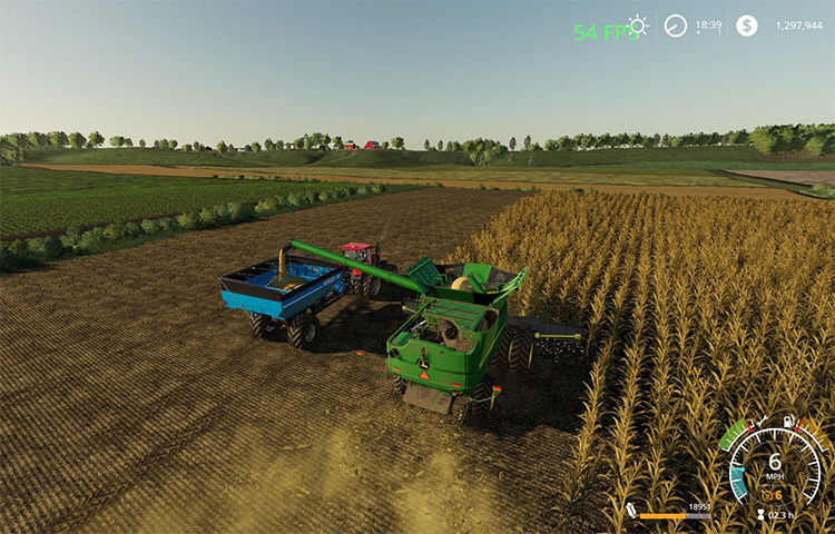 Farms Of Madison County - FS19 Map Mod