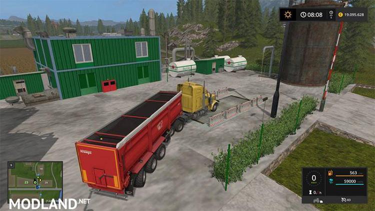 Bio-Diesel Refinery Placeable Farming Simulator 17