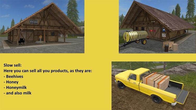 Slow Bee Pack Farming Simulator 17 screenshot